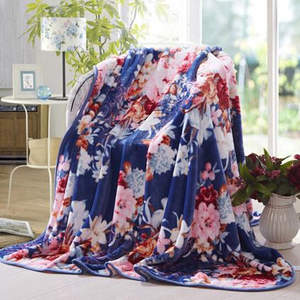 喬德家紡舒適貼身法蘭絨毯定制 卡蘭密語 150*200cm