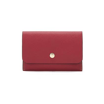 ELLE(她)90047時尚紅的迷你長款卡包定制