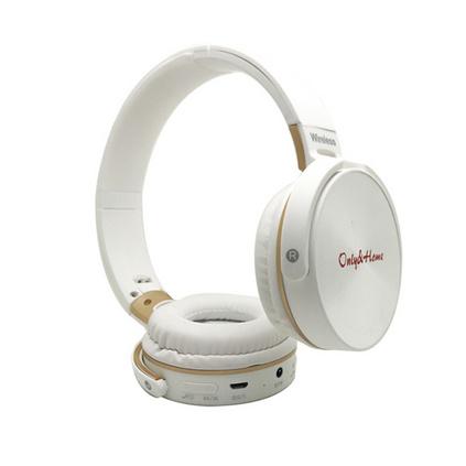 only&home頭戴式多功能無線藍牙耳機插卡降噪耳麥定制