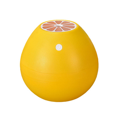 柚子USB超声波负离子家用香薰机智能创意加湿器定制