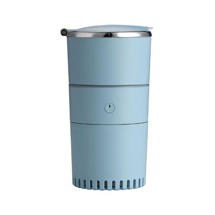 新品USB车载增湿器 迷你多功能收纳百格加湿器七彩灯空气净化器定制