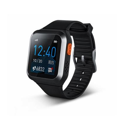 iwown埃微老人彩屏血壓心率通話手環插電話卡GPS定位智能健康手表定制