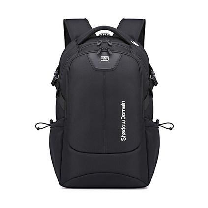 定制雙肩包男商務背包時尚雙肩背包17寸雙肩電腦包戶外旅行包