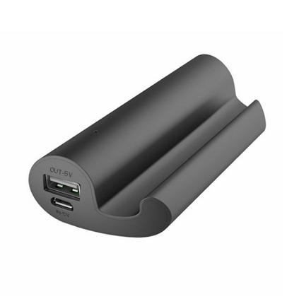 新品創意懶人2200毫安移動電源 帶手機支架充電寶定制