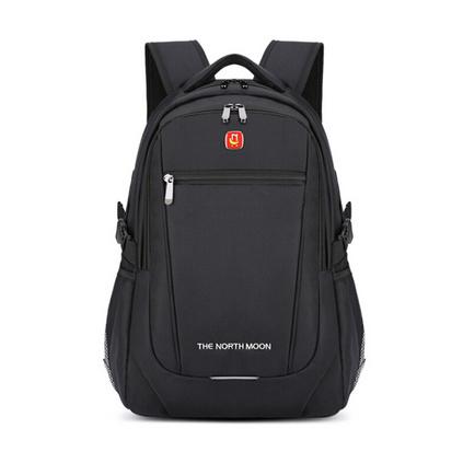 背包定制LOGO男女戶外休閑雙肩背包電腦雙肩包時尚防水旅行包定制