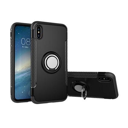 蘋果X手機殼iPhone X手機保護套蘋果10全包帶指環支架防摔保護殼定制