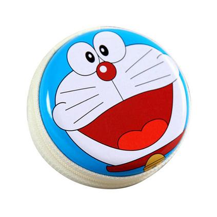 卡通創意馬口鐵零錢包淘寶廣告贈品開業小禮品兒童周歲訂婚喜糖盒定制