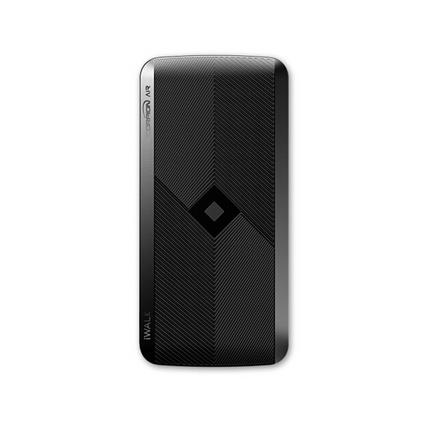 iWALK蘋果X無線充電寶iphone8超薄便攜自帶線三星小米華為P20/榮耀10手機通用移動電源定制