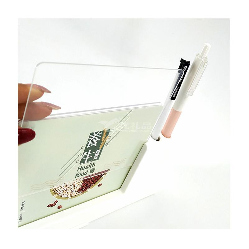 2020年历办公创意摆件笔筒支架简约小清新桌面月历台历定制