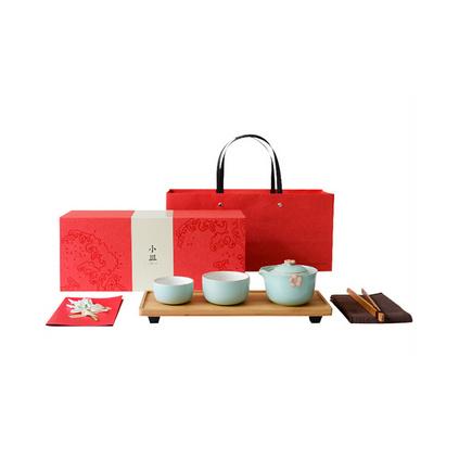 小皿高檔茶具套裝個性中國風文化禮品定制