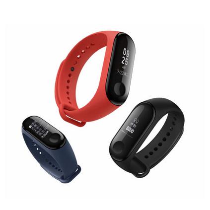 小米手环3智能蓝牙男女款运动计步器微信天气心率睡眠监测手表定制