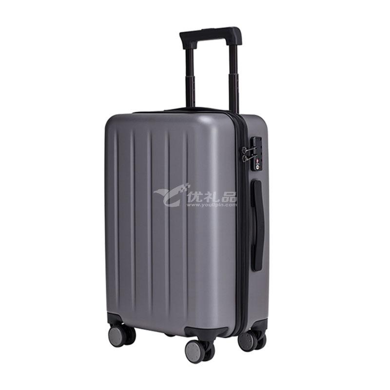 小米90分旅行箱1A静音PC拉杆20英寸万向轮可登机行李箱亚博体育app下载地址