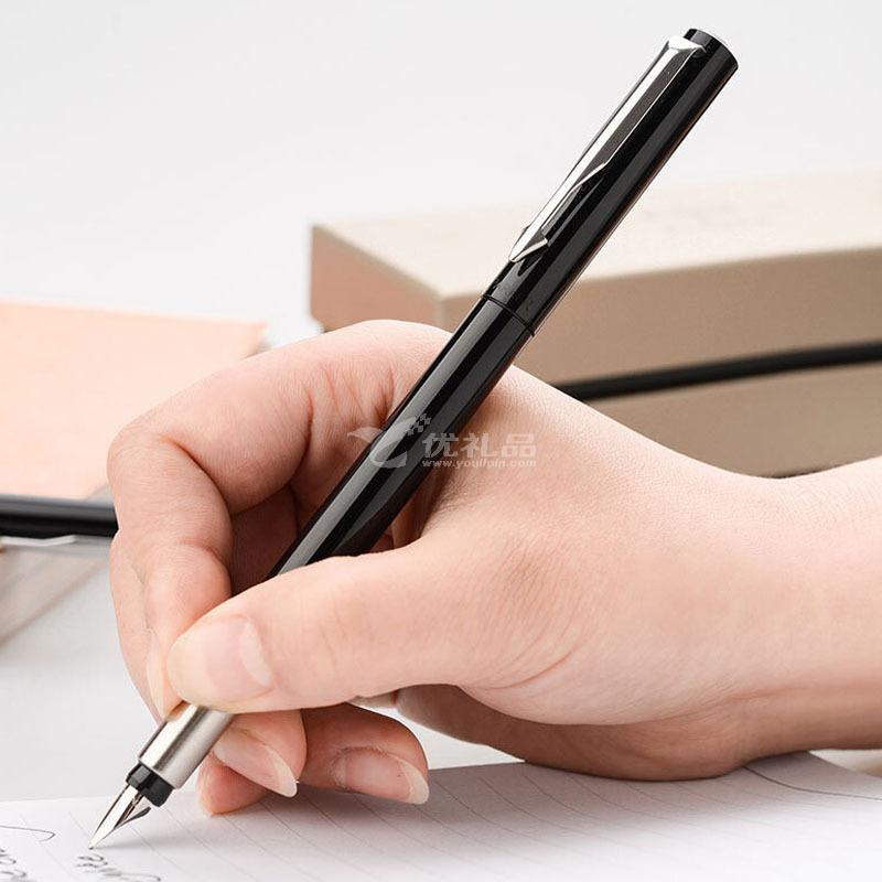 派克笔PARKER/ 威雅系列黑色胶杆 墨水笔