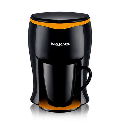 NAKVA 咖啡機GCA-012美式單杯咖啡機滴漏式咖啡壺迷你型泡茶機定制