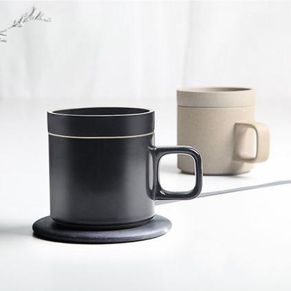 VH无线充保温杯55度智能恒温垫创意加热杯抖音爆款充电加热两用水杯定制