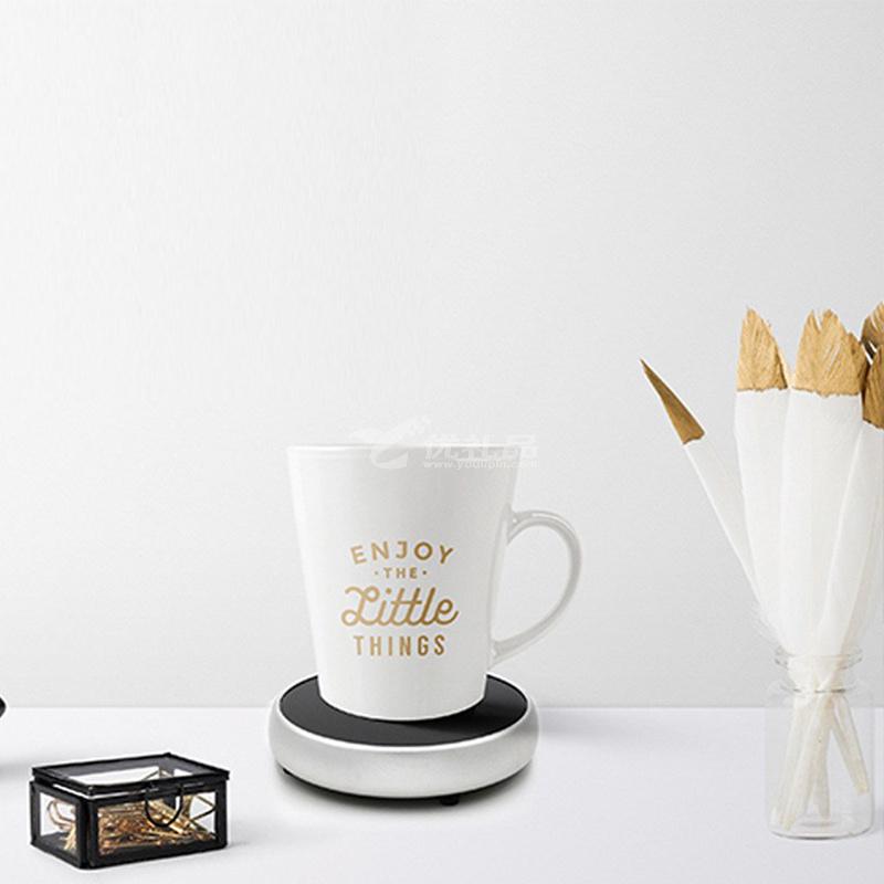 360度觸摸迷你保溫器智能加熱杯墊茶座茶具辦公保溫墊加熱恒溫器定制