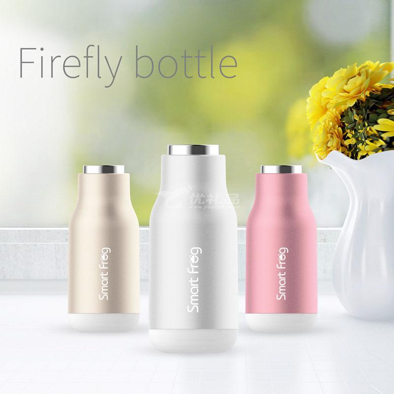 卡蛙科技新品手持式暖手寶-螢火瓶 移動充暖手寶 冬季爆款定制