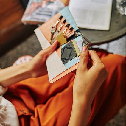 纸迷多功能杜邦纸钱包卡包防水耐撕轻薄创意收纳包定制