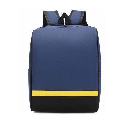 學生書包商務旅游撞色雙肩包定制