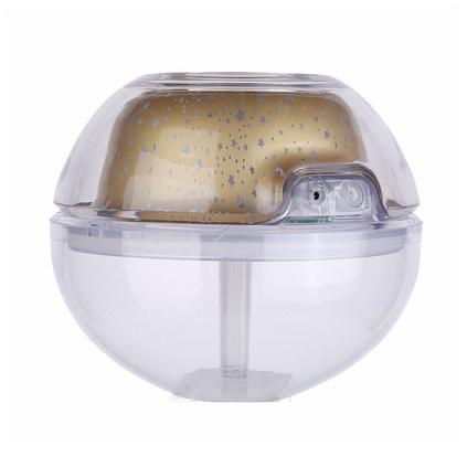 迷你水晶夜灯投影加湿器 大容量家用加湿器 usb光影加湿器定制