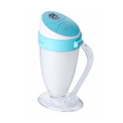 月光杯七彩迷你usb空氣加濕器家用靜音臥室辦公室加濕器定制