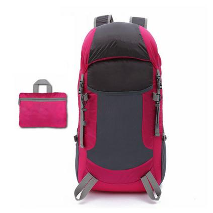 超輕戶外折疊雙肩包男登山旅行背包可折疊背包定制