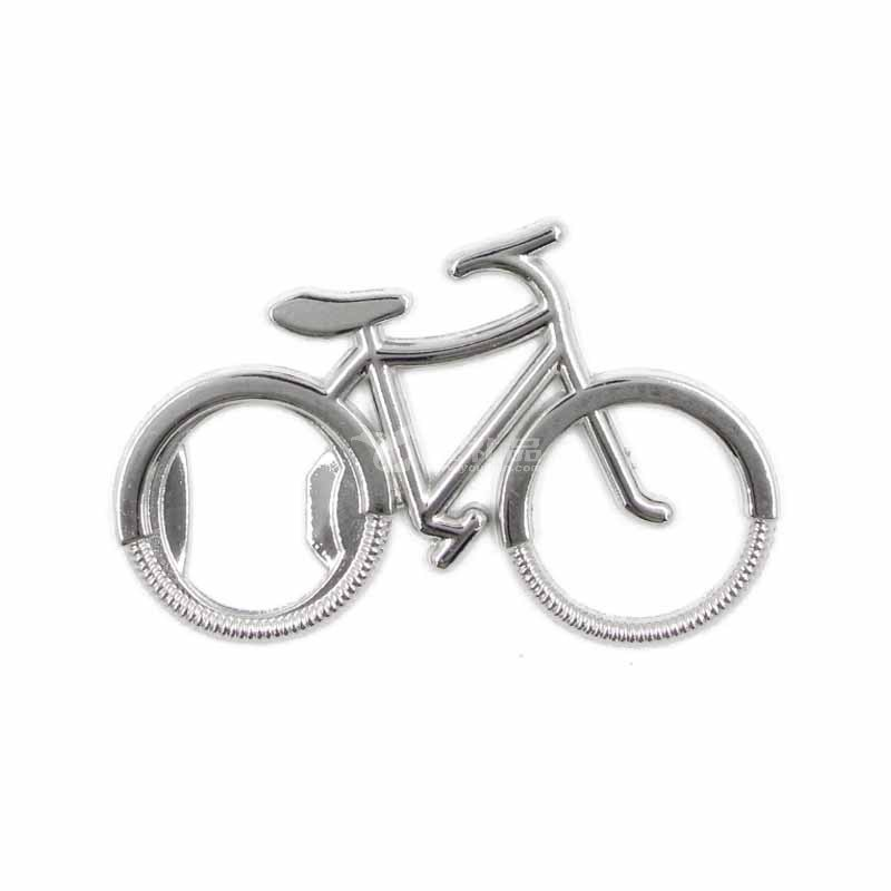 創意運動自行車開瓶器金屬廣告鑰匙扣促銷活動實用禮品定制