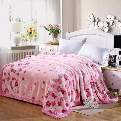 北極絨 歐式風情毯 時尚加厚雙層家居毯定制 蘇美爾 150x200cm