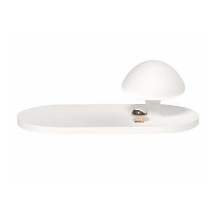 3life新款蘑菇灯无线充电手机无线感应usb氛围起夜灯多功能小台灯定制