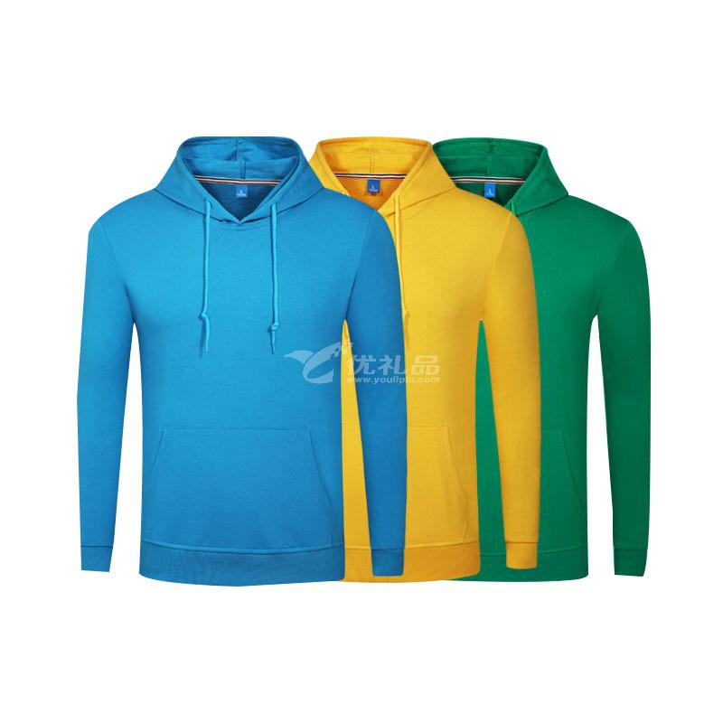 春夏卫衣外套长袖纯棉文化团体工作服广告卫衣定制