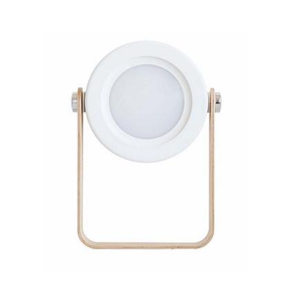 創意燈籠燈3D小夜燈新款無極調光usb燈戶外手提燈三檔白光臺燈定制