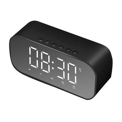 新款S5鬧鐘時鐘禮品時尚創意鏡子藍牙音箱定制