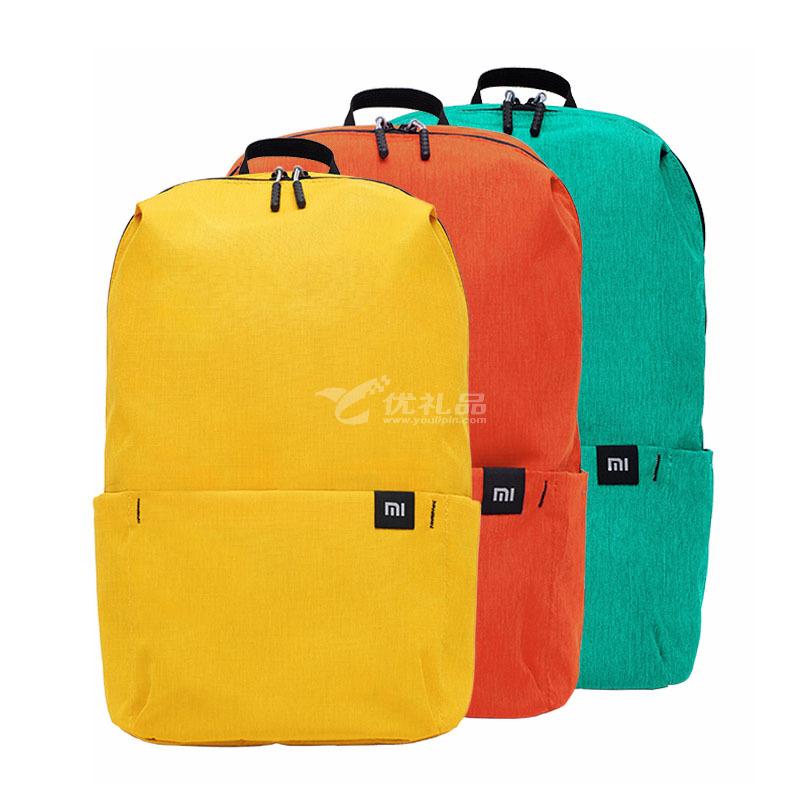 小米雙肩包米家小背包男女通用運動包日常休閑雙肩包學生書包定制