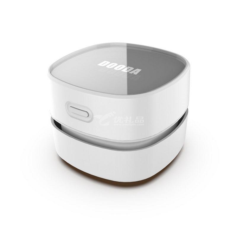 新款小型手持式扫地机机器人 新奇特创意礼品桌面吸尘器定制