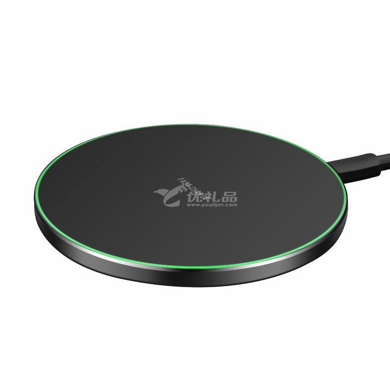 無線充電器定制10W無線快充定制圓形超薄無線快充定制