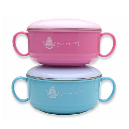 儿童碗杯四件套 304宝宝饭碗水杯 儿童餐具套装 六一节/开学礼品