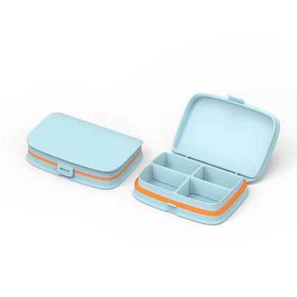 便携式药盒小药盒迷你一周分装药盒子随身药丸药片药品盒定制