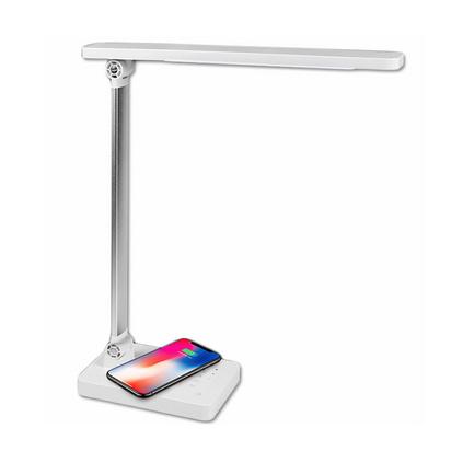 DP久量LED學習護眼臺燈5段調光DP-1053蘋果三星安卓無線充電器智能兩用臺燈定制