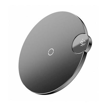 倍思iphoneX/8plus苹果XS无线充电器Xsmax手机快充专用小米华为三星安卓无线快充 数显无线充电器定制