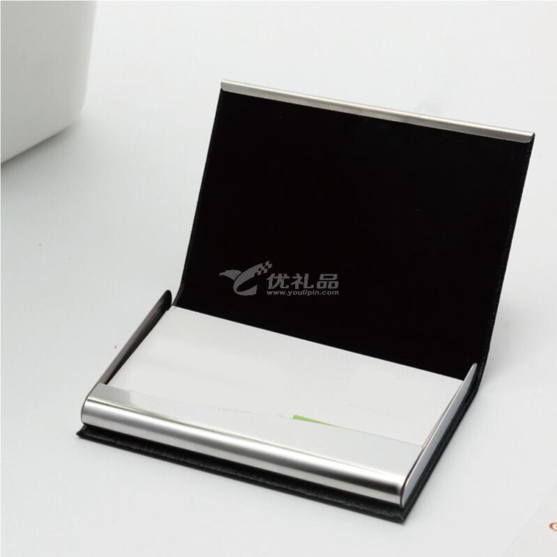 金隆興(Glosen)商務便攜名片夾 PU時尚隨身名片盒男女卡包定制