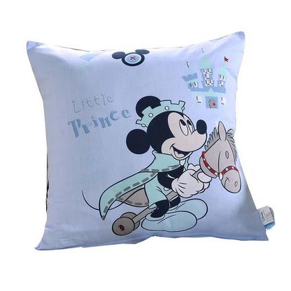 Disney/迪士尼 歡樂陪伴枕 米奇米妮抱枕靠墊臥室靠枕床頭沙發靠墊卡通抱枕定制 50x50