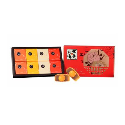 華美花香滿庭月餅禮盒定制