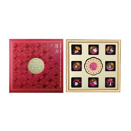 奔月系列巧克力中秋禮盒定制