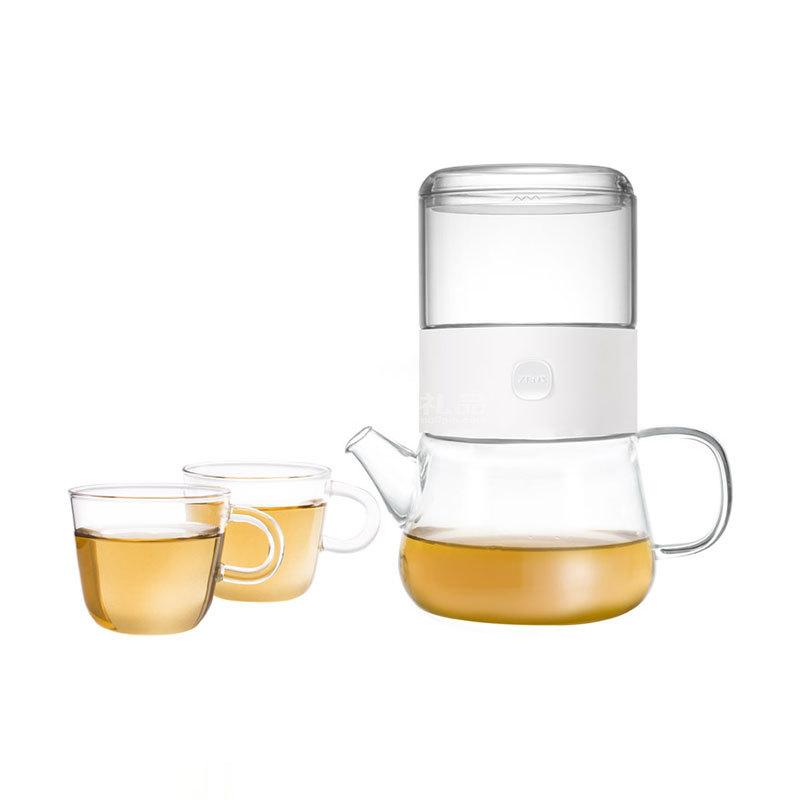 哲品派杯分享套裝一壺兩杯玻璃2人功夫茶具套裝定制