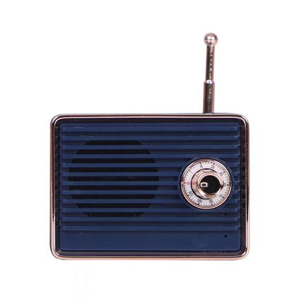 MARTUBE馬克圖布收音機款記憶復古小音箱藍牙音迷你便攜可愛創意定制