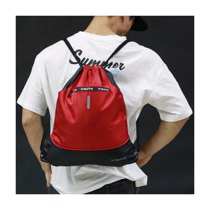 户外双肩束口袋双肩包运动学生篮球大容量轻便旅行抽绳背包定制