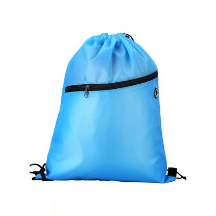 絲印廣告防水尼龍束口袋雙肩背包抽繩袋定制