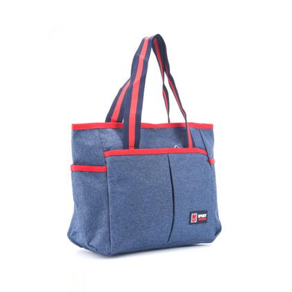 背新款手拎保溫包鋁箔保溫袋帶便當袋帶飯包學生飯盒袋定制