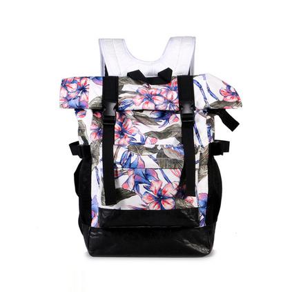 杜邦紙背包休閑旅行包男女大學生戶外雙肩書包定制