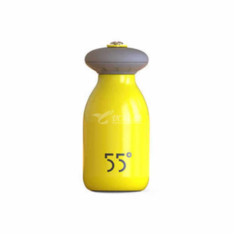 lkk55度保温杯Biger小马甲保温杯不锈钢迷你保冷热杯儿童水壶学生保温杯定制